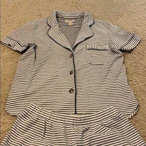 Madewell Striped Pajamas